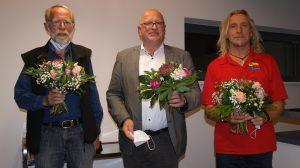 v. l.: Michael Neben, Andreas Deidert, Joachim Wiebecke