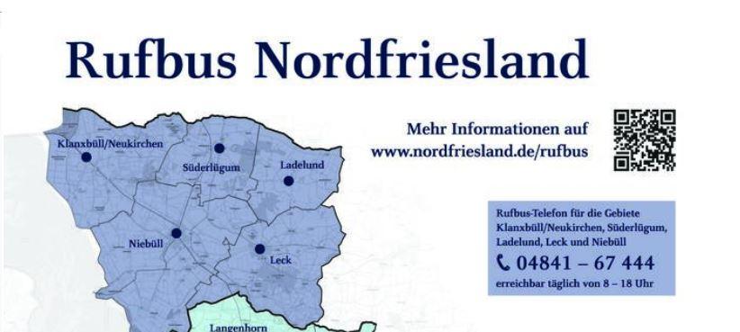Alle Infos zum Rufbus Nordfriesland