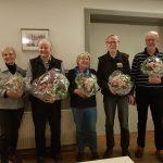 v.l.: Rosemarie Lorenzen, Hans-Jochen Hintz, Brigitte Wüpper, Michael Neben, Holger Friedrichsen